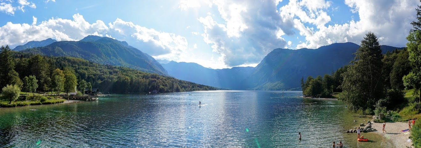 Austria by Auto & Swimming in Slovenia