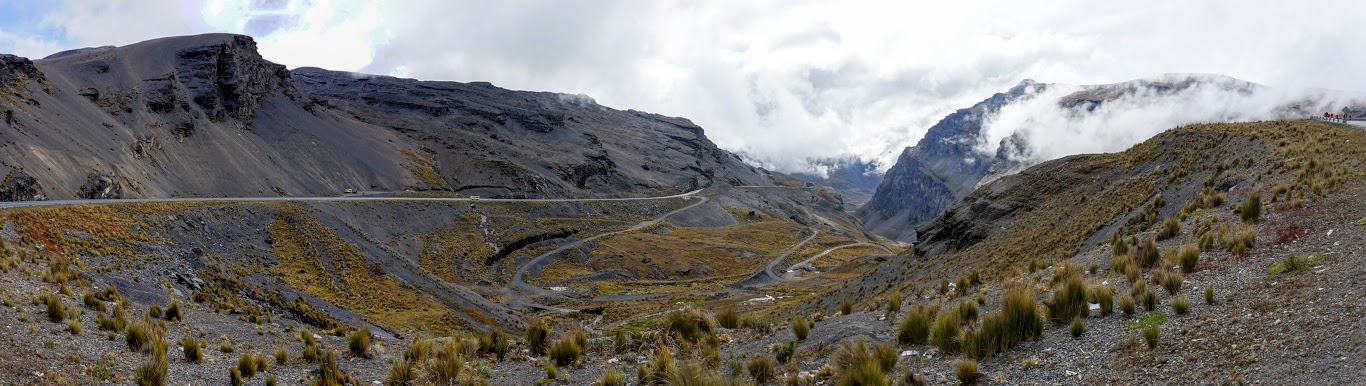 La Paz and the Death Road