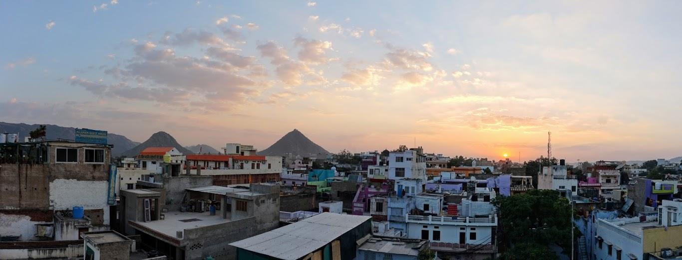 Taking a Breather in Pushkar